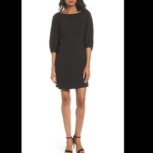 Eliza J Black Shift Mini Dress Little Black Dress